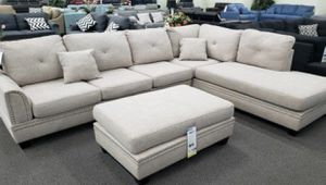 3PC Sofa Sectional w/ Ottoman for Sale in Fresno, CA
