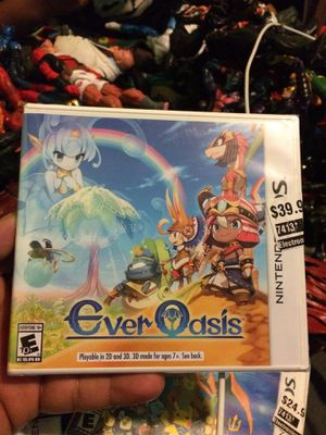 Nintendo 3ds ever oasis brand new sealed for Sale in Commerce, CA