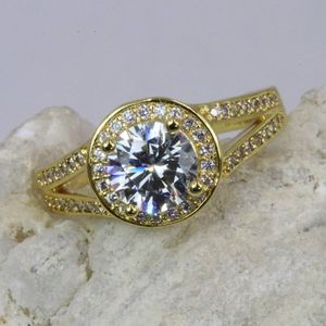 Engagement Ring in Gold and Silver Tone for Sale in Palatine, IL