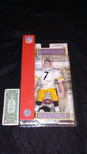 Pittsburgh Steelers Ben Roethlisberger NFL action figure for Sale in Cleveland, OH