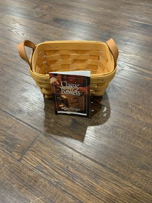 Longaberger basket for Sale in Gibsonia, PA
