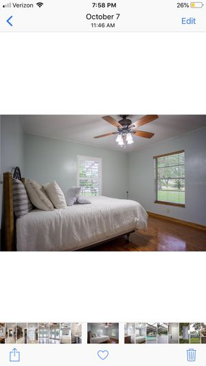 Bed Set with Mattress , Bed Frame, and Box Spring for Sale in Tampa, FL