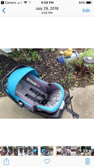 Safety Infant car seat $25.00 used for Sale in Laurel, MD
