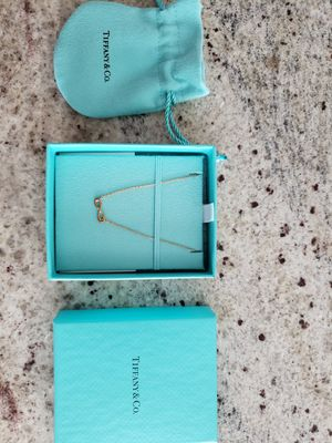 Tiffany & Co necklace Infinity mini for Sale in Chino Hills, CA