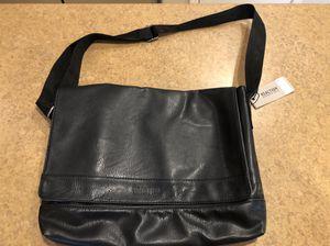New Kenneth Cole Reaction Faux Leather messenger bag for Sale in Litchfield Park, AZ
