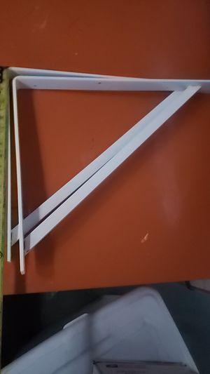 """2 -12"""" x 8"""" Heavy Duty Shelf L Bracket for Sale in Henderson, NV"""