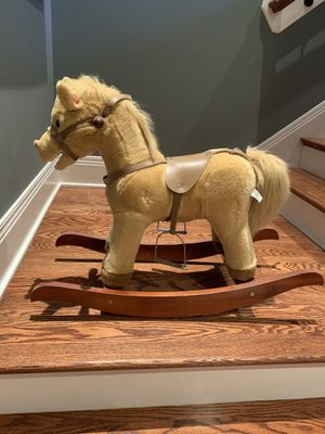 Rocking horse that makes sound for Sale in Louisville, KY