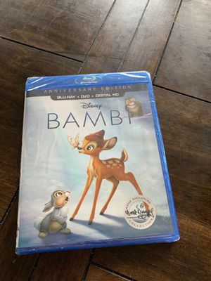 Bambi BluRay DVD Digital for Sale in Vancouver, WA