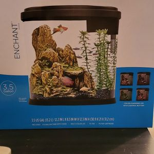 3.5 Gallon Top Fin Color Changing Led Tank for Sale in Woodbridge, VA