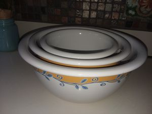 Corelle, Casa Flora Mixing Bowls for Sale in Berlin, CT