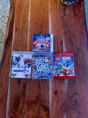 PS3 game and 1 Nintendo 3DS Game for Sale in San Carlos, CA