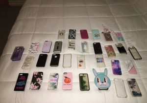 32 assorted iPhone cases will fit 6/6s 7 and 8 for Sale in Philadelphia, PA