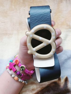 KATE SPADE leather pretzel belt for Sale in Lakeland, FL