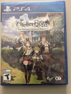 Atelier Ryza: Ever Darkness & The Secret PS4 (NEW/RARE) Or TRADE FOR CRYSTAR PS4 for Sale in Los Angeles,  CA