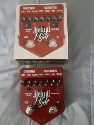 Jekyll and Hyde Overdrive and Distortion Pedal for Sale in Walnut Creek, CA