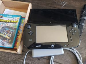 Nintendo Wii U 32 GB black . for Sale in Las Vegas, NV