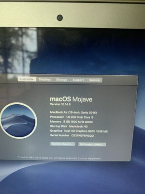 MacBook Air for Sale in Maple Shade Township, NJ