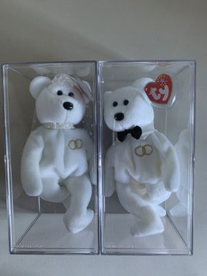 Ty Beanie Babies - Mr & Mrs for Sale in Puyallup, WA