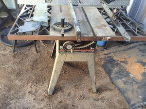 Craftsman Table Saw for Sale in Hesperia, CA
