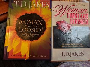 Woman thou art loosed book and devotional for Sale in Montgomery, AL