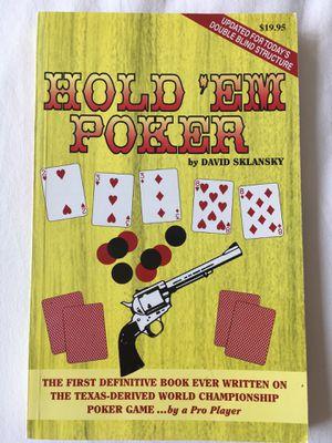 Hold 'Em Poker - David Sklansky for Sale in Baltimore, MD