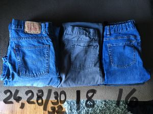 Young men lot of jeans/Old Navy/Levi's for Sale in Raleigh, NC