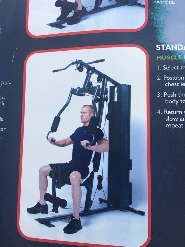 Full body exercise equipment