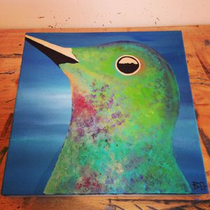 Hummingbird painting I did for Sale in Alexandria, VA