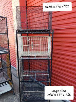 Bird and small animal cages for Sale in Saginaw, TX