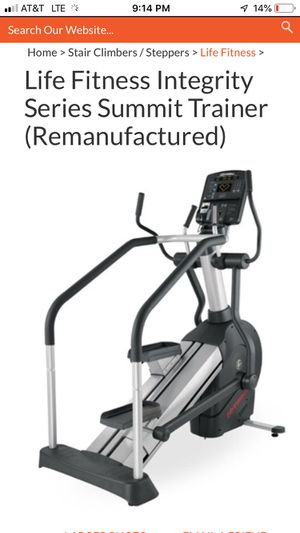 Life fitness summit trainer elliptical machine for Sale in Mansfield, TX