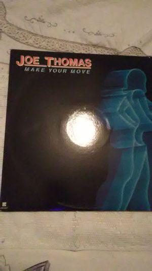 "Joe Thomas Vinyl ""Make Your Move"" for Sale in Camden, AL"