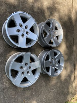 "Jeep Wrangler 17"" Factory Wheels. Excellent! for Sale in Houston, TX"