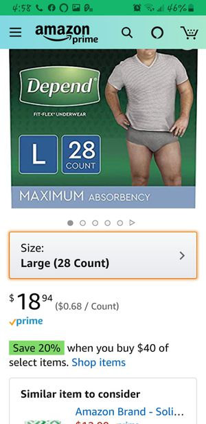 Underwear fit-flex for MEN for Sale in Parma Heights, OH