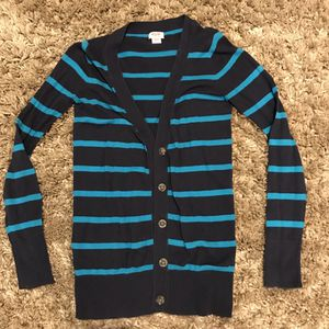 Mossimo striped cardigan women's XS for Sale in Snohomish, WA