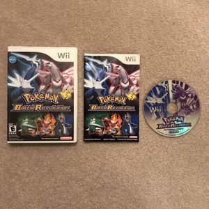 Pokemon Battle Revolution wii video game nintendo system console gaming for Sale in Burtonsville, MD