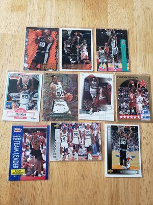 David Robinson San Antonio Spurs NBA basketball cards for Sale in Gresham, OR