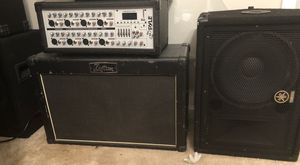 Pyle Amplifier with 2 large speakers for Sale in Ashburn, VA