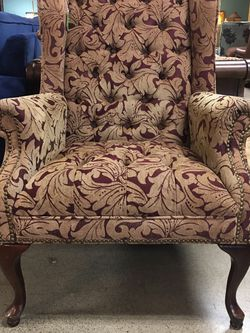 Tufted Wingback Chair for Sale in Bellevue,  WA