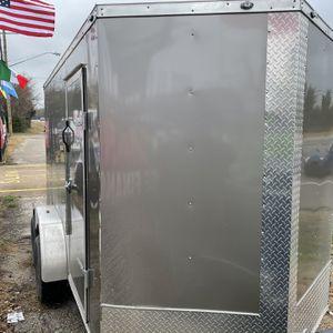 6x12ta2 Enclosed Trailer/Trailas for Sale in Dallas, TX