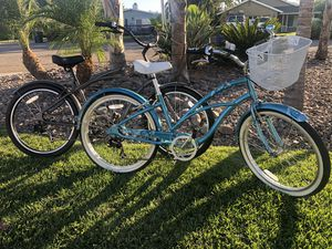 "Electra 7D his and hers 26""aluminum frame cruiser bikes for Sale in San Diego, CA"