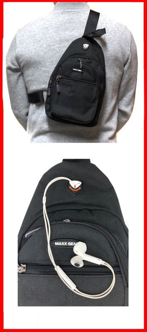NEW! Compact Side Bag Crossbody bag chest bag sling gym pouch biking hiking day pack edc backpack travel bag for Sale in Carson, CA