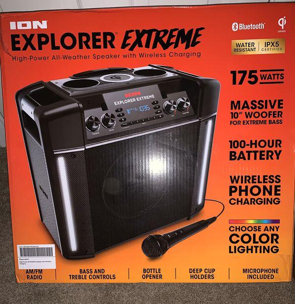 Speaker Bluetooth Ion explorer extreme está nueva si tienes al guna duda pregunta