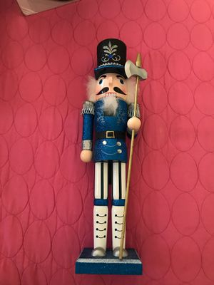 Blue Nutcracker (Collectible not for use) for Sale in Los Angeles, CA
