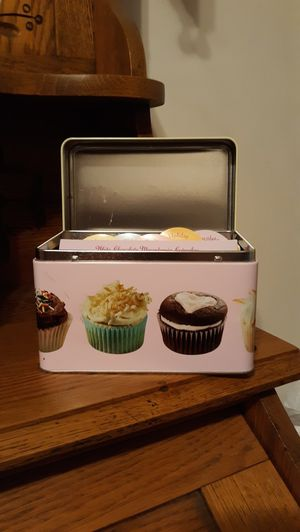 Cupcakes - Boxed Tin Recipe Collection for Sale in Lynchburg, VA