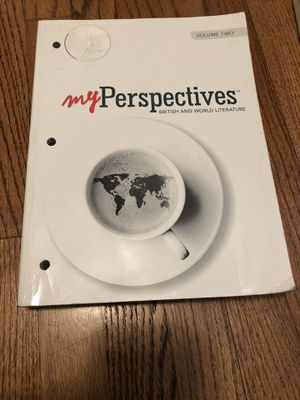 My Perspectives British and world literature vol. 2 for Sale in Altadena, CA