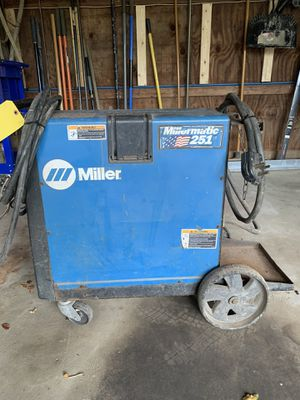 Millermatic 251 mig welder for Sale in Canonsburg, PA
