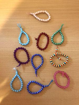 Elastic beaded bracelets for Sale in Dumfries, VA