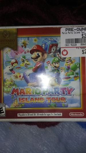 Mario party for 3DS for Sale in Moreno Valley, CA