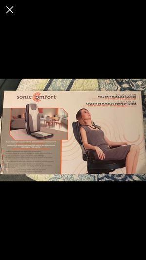 Sonic Comfort Massage & Heat Chair Cushion for Sale in New England, WV