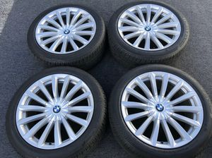 BMW 7 series WHEELS AND TIRES for Sale in North Miami, FL
